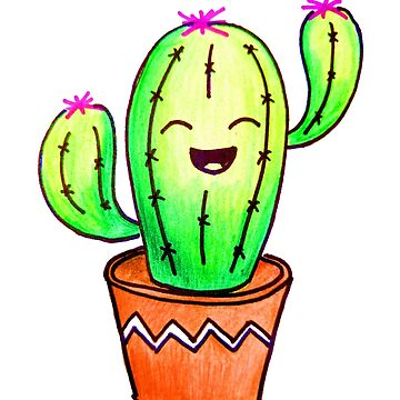 Happy Cactus! by mikiex
