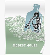 Modest Mouse Bottle Poster