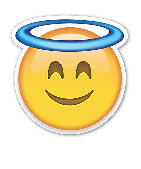 Quot Angel Face Emoji T Shirt Halo Innocent Not Guilty Heaven