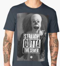 straight outta sewer Men's Premium T-Shirt