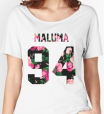 Maluma - Colorful Flowers Women's Relaxed Fit T-Shirt