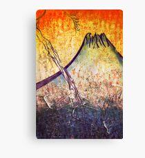 good morning  Mountain Canvas Print