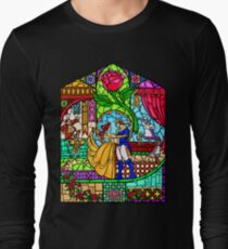 Patterns of the Stained Glass Window Long Sleeve T-Shirt