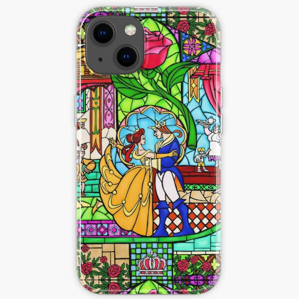 Patterns of the Stained Glass Window iPhone Soft Case