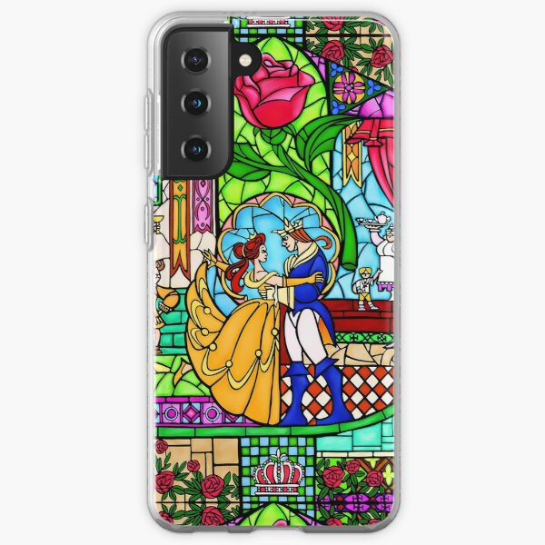 Patterns of the Stained Glass Window Samsung Galaxy Soft Case
