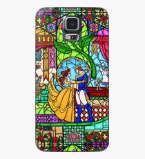 Muster des Buntglasfensters Hülle & Klebefolie für Samsung Galaxy