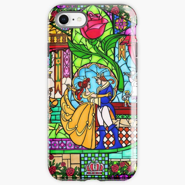 Patterns of the Stained Glass Window iPhone Tough Case