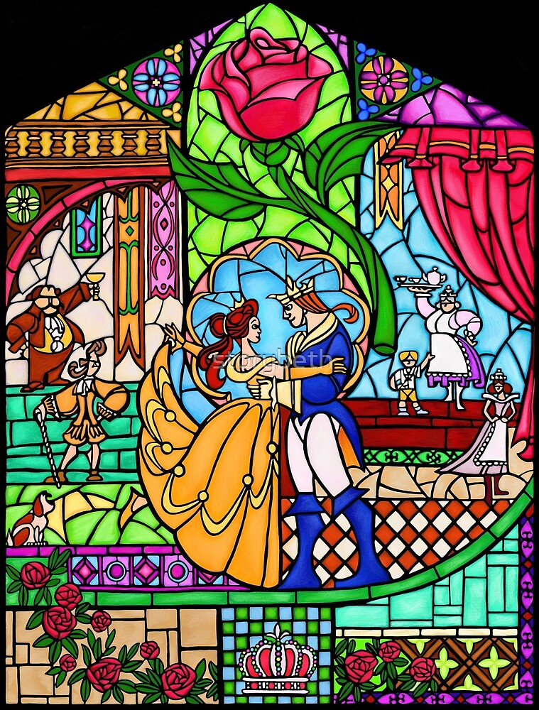 Patterns of the Stained Glass Window by storybeth