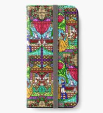 Patterns of the Stained Glass Window iPhone Wallet/Case/Skin