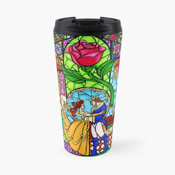 Patterns of the Stained Glass Window Travel Mug