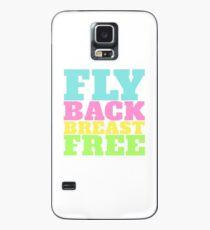 Fly Back Breast Freies Schwimmen IM Hülle & Skin für Samsung Galaxy