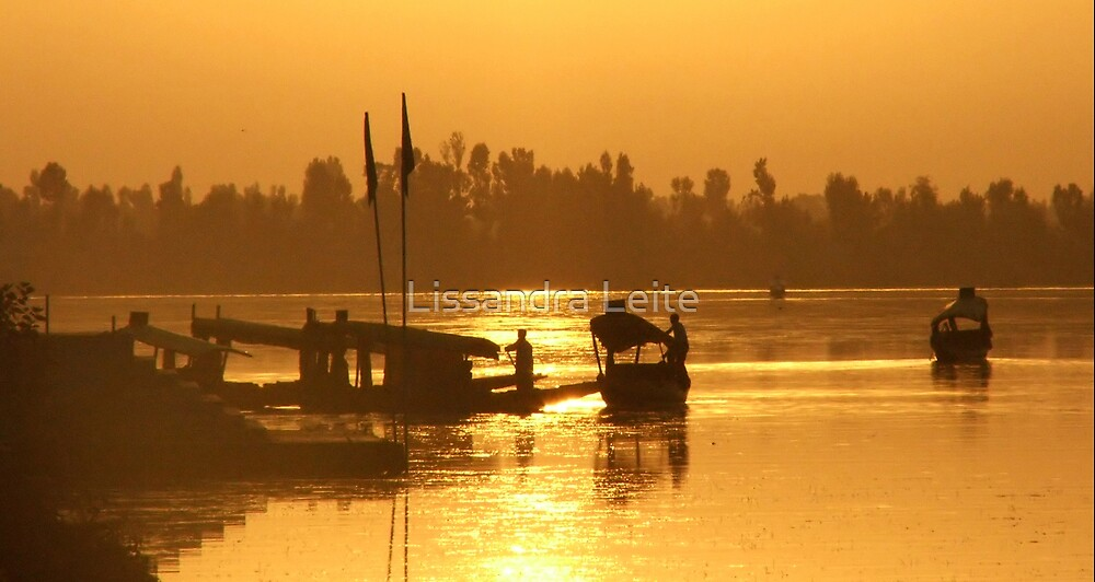 Srinagar Sunset - Kashmiri by Lissandra Leite