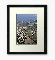 Turkey Hot Airballooning Framed Print