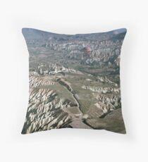 Turkey Hot Airballooning Throw Pillow