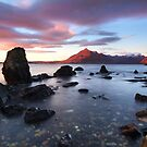 Elgol Sunset . Loch Scavaig. Isle of Skye. Scotland. by PhotosEcosse