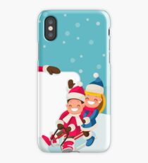 Advertise Family Winter Sale iPhone Case/Skin