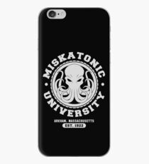 Vinilo o funda para iPhone Universidad de Miskatonic