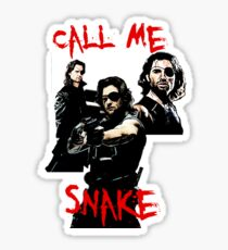 Call me Snake Sticker