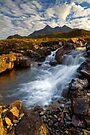 Sligachan Waterfall. Isle of Skye. Scotland. by PhotosEcosse