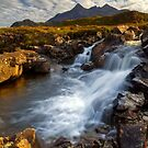 Sligachan Waterfall. Isle of Skye. Scotland. by PhotosEcosse