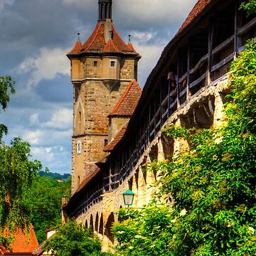 Klingen Gate and City Walls by tomg