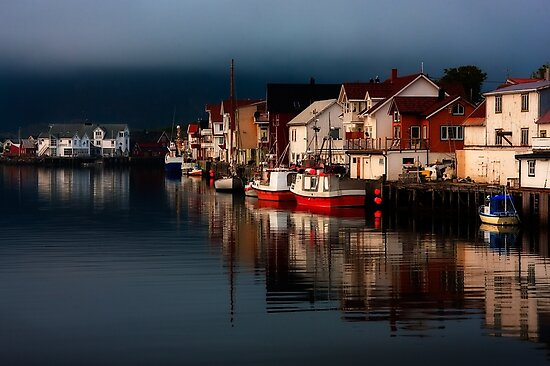 Henningsvaer. Lofoten Islands. Norway. by PhotosEcosse