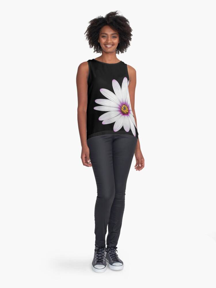 Alternate view of African Daisy Sleeveless Top