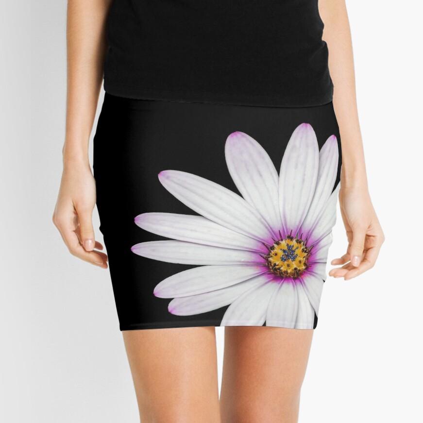 African Daisy Mini Skirt