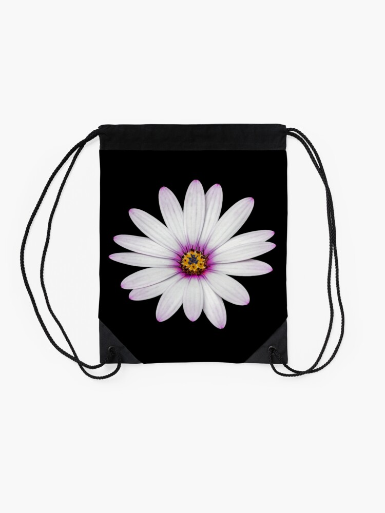 Alternate view of African Daisy Drawstring Bag