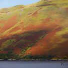 Scottish Brae o'er Loch Sligachan by Yannik Hay