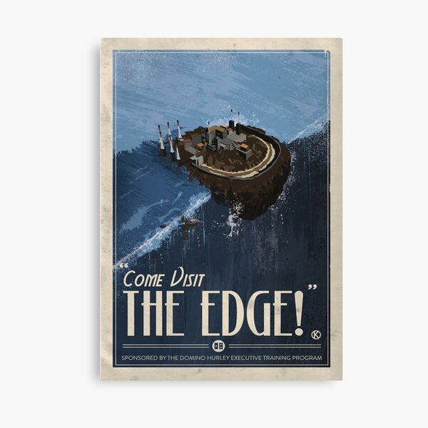 Grim Fandango Travel Posters - The Edge Canvas Print