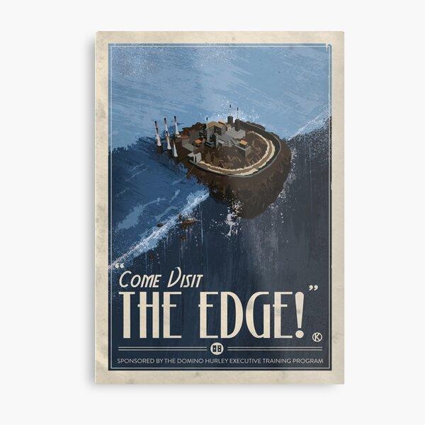 Grim Fandango Travel Posters - The Edge Metal Print