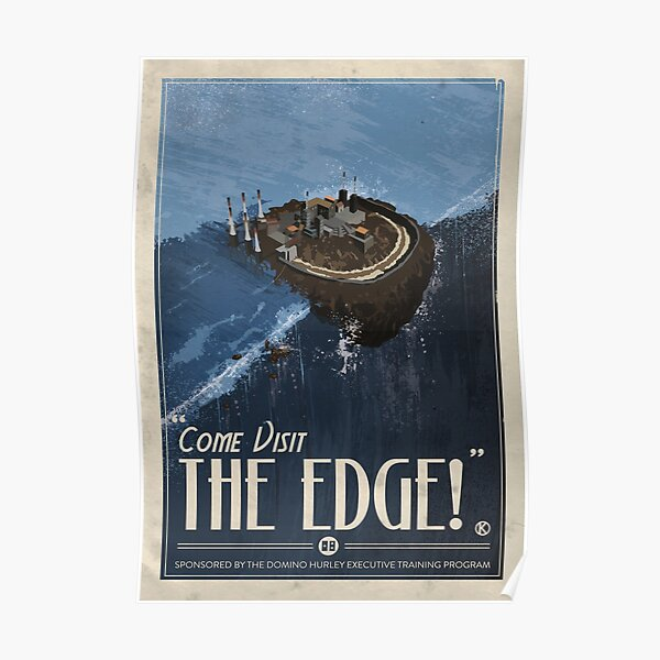 Grim Fandango Travel Posters - The Edge Poster