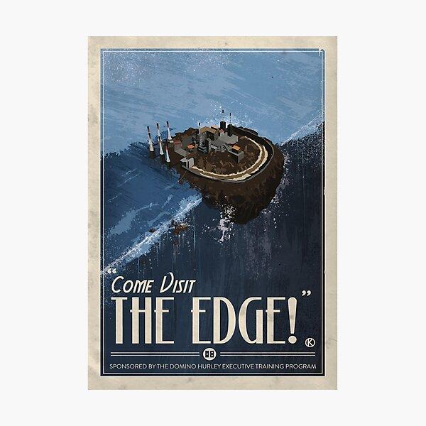 Grim Fandango Travel Posters - The Edge Photographic Print