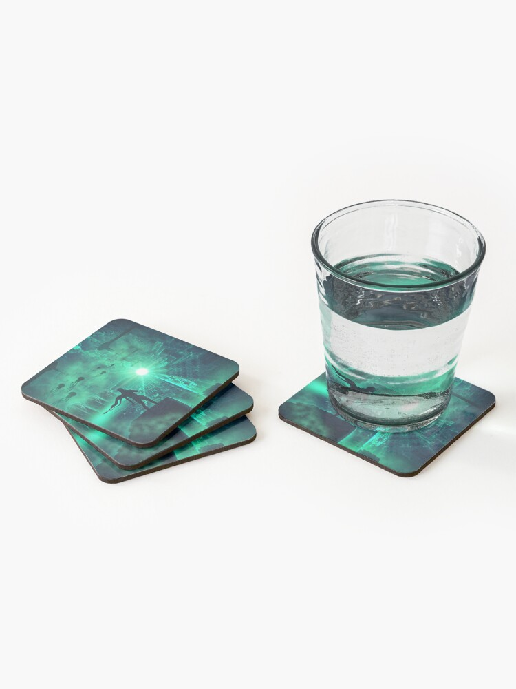 Alternate view of Enter new Life Coasters (Set of 4)