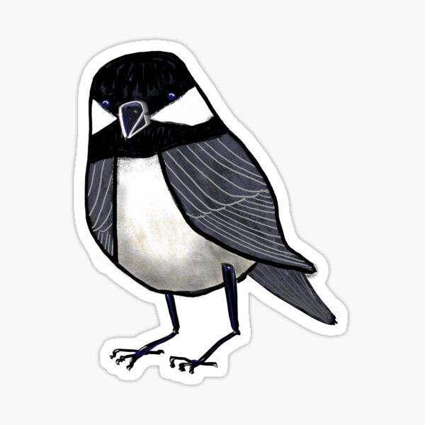 Backyard Chickadee Sticker
