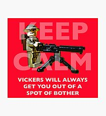 Keep Calm... Photographic Print