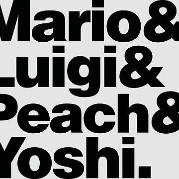 Super Mario & Friends by lunetta1984