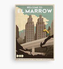 Grim Fandango Travel Posters Canvas Print