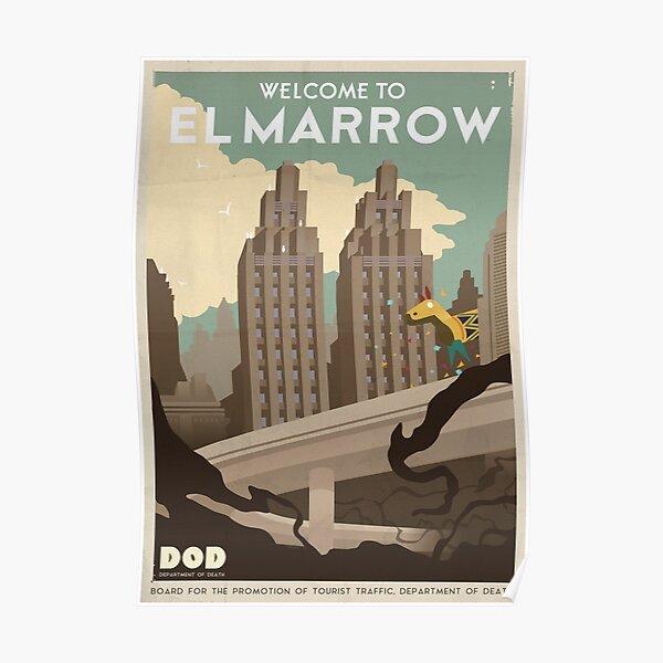 Grim Fandango Travel Posters Poster