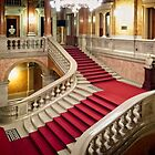 Grand Staircase of Budapest Opera House by Yukondick