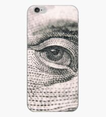 George Washington Green Back: Eye of the tiger iPhone Case