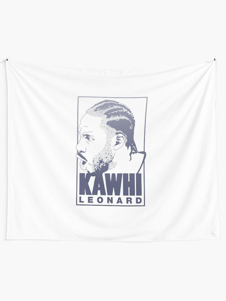pretty nice 84524 2b356 Kawhi Leonard Shirt - Spurs NBA Player | Wall Tapestry