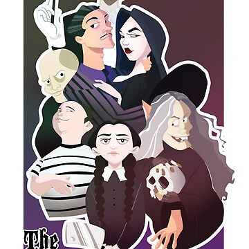 The Addams Family by meldoodles