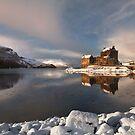 Eilean Donan Castle in Winter, Loch Duich, Scotland. by PhotosEcosse