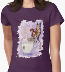 Warm Toes Tea Faery Women's Fitted T-Shirt