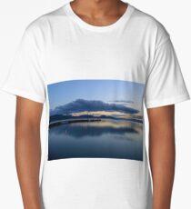 San Feliciano after sunset, Lago Trasimeno, Umbria, Italy Long T-Shirt