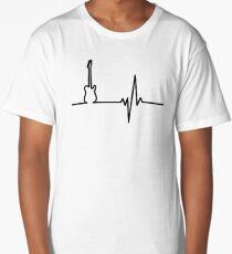 Tele heart Long T-Shirt