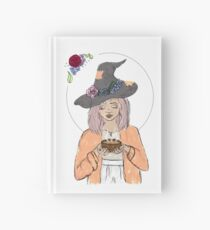 Homeopathy Herbal Tea Witch Hardcover Journal