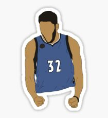 Karl-Anthony Towns Excited Sticker